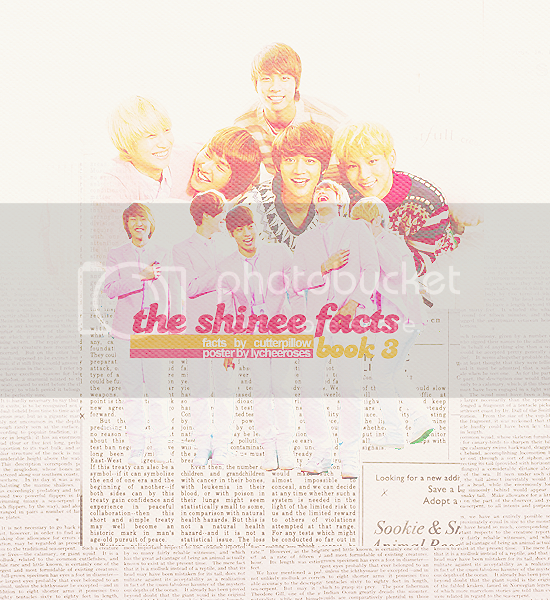The SHINee facts  BOOK 3